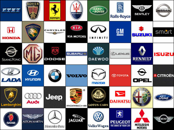 Cars Logo Images Cars Logo Images And Names Car